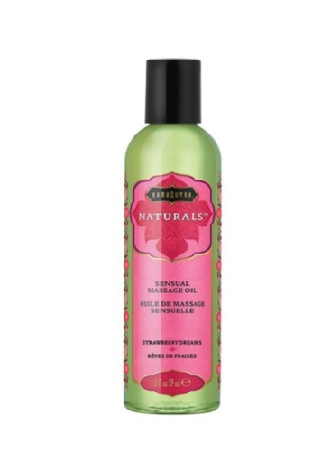 Kama Sutra Natural Massage Oil Strawberry Dreams 59ml