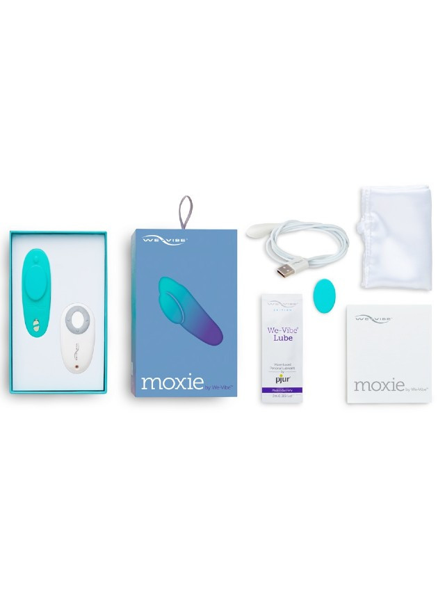 We-Vibe Moxie Aqua Wearable Vibrator with Remote Control and App