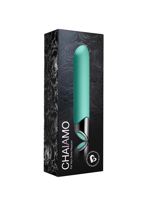 Rocks-Off Chaiamo 10-Speed Teal Classic Vibrator