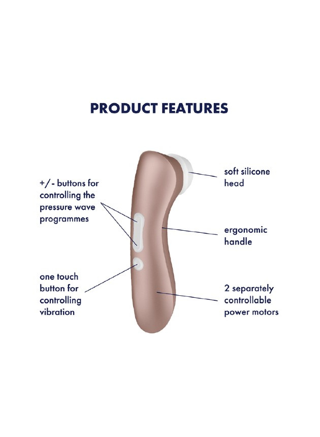 Satisfyer Pro 2+ Vibration Clitoral Stimulator