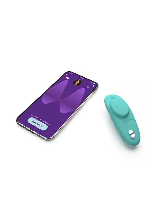 We-Vibe Moxie Panty Vibrator with Remote Control and App